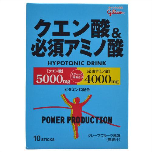パワープロダクション クエン酸&必須アミノ酸 12.4g×10袋