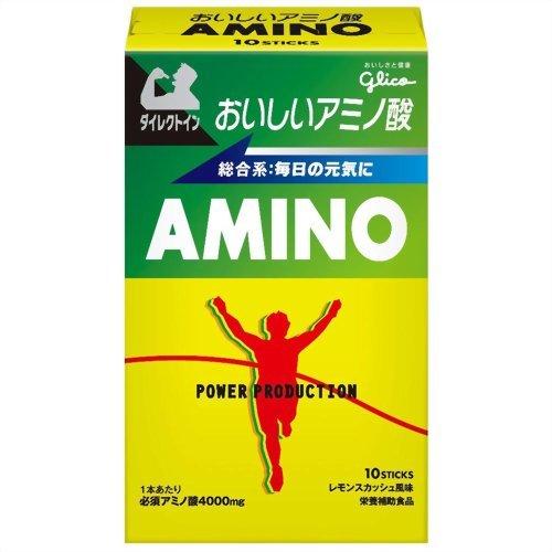 パワープロダクション おいしいアミノ酸必須アミノ酸スティックパウダー レモンスカッシュ風味 4.7g×10本