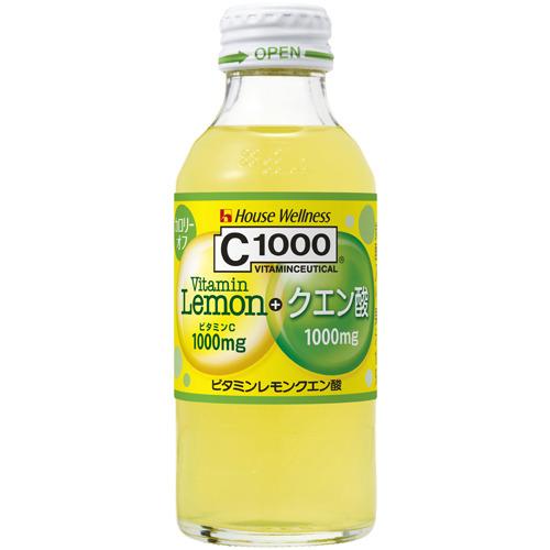 【ケース販売】C1000 ビタミンレモン クエン酸 140ml×30本