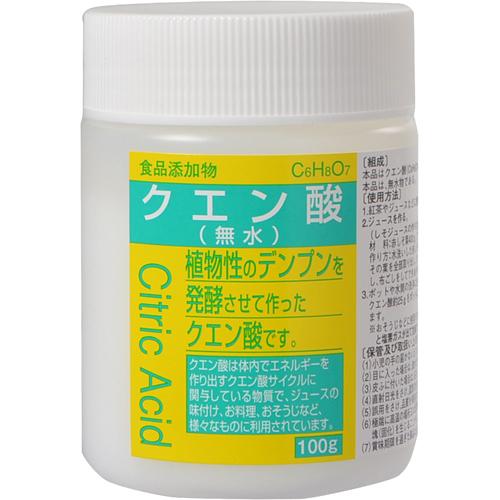 食品添加物 クエン酸 100g