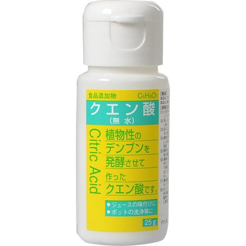 食品添加物 クエン酸 25g