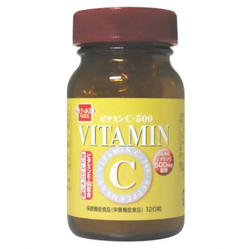 健康フーズ ビタミンC-500 120粒