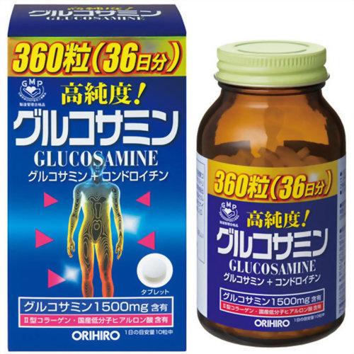 オリヒロ グルコサミン粒 360粒