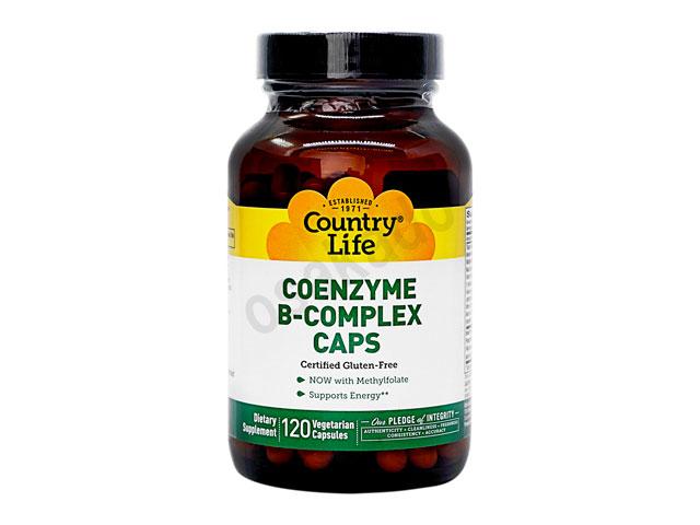 コエンザイムBコンプレックス (CoenzymeB-Complex) 【カントリーライフ社製】【1本120錠】
